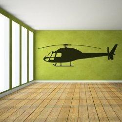 Adesivo de parede helicóptero