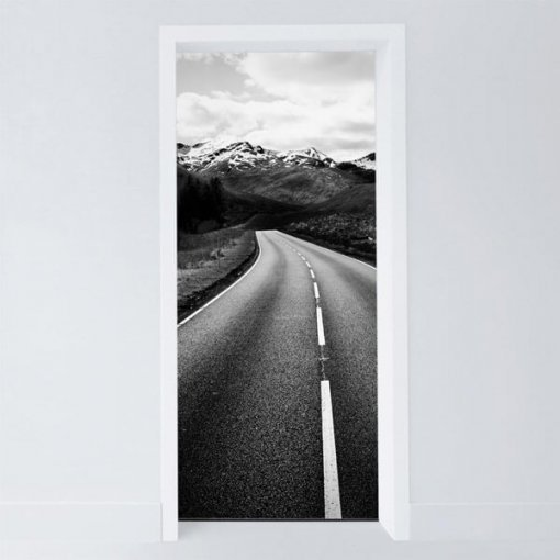 Adesivo para porta estrada