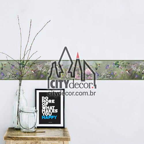 Faixa de parede Beija flor