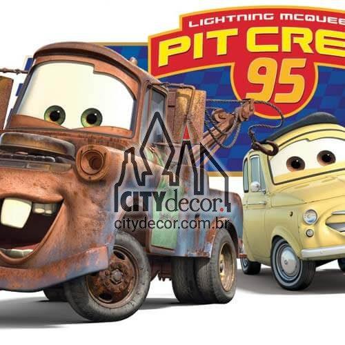 Faixa para quarto Carros Disney
