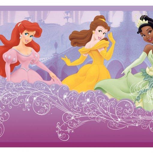 Faixa decorativa de parede Princesas Disney