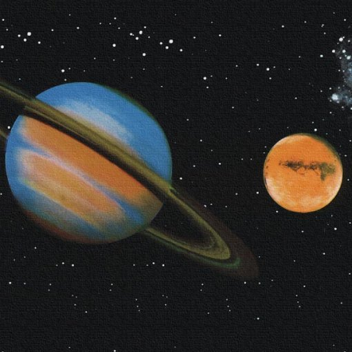 Faixa decorativa Planetas