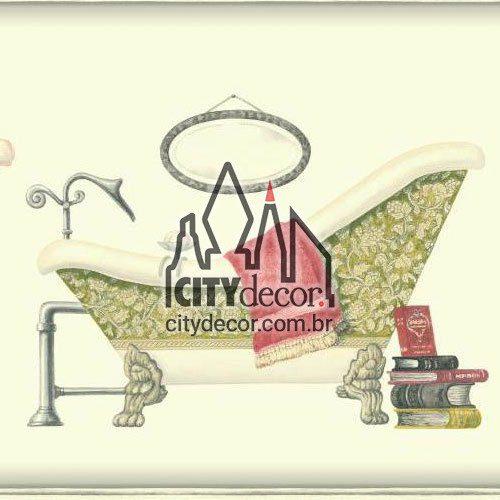 Faixa decorativa banheiras