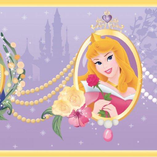 Faixa infantil Princesas Disney - lilás