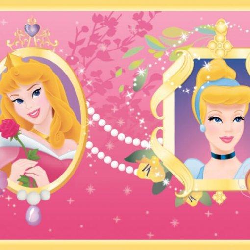 Faixa infantil Princesas Disney - pink