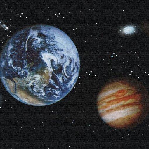 Faixa de parede Planetas
