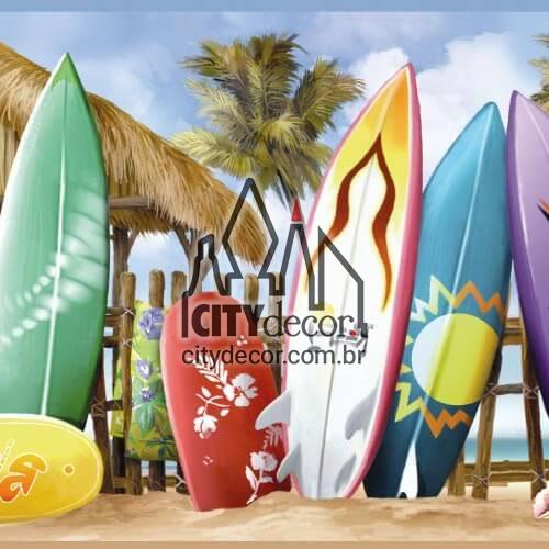 Faixa border de parede Pranchas de surf