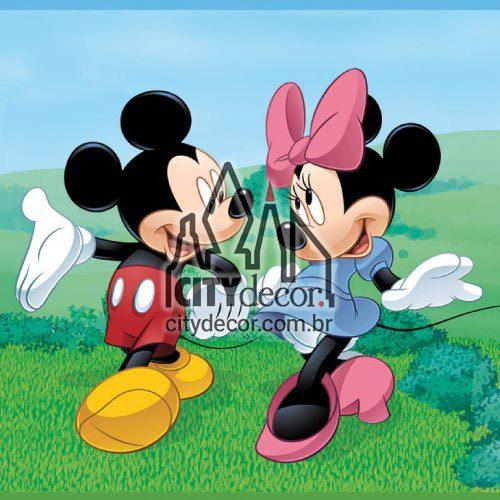 Faixa de parede Mickey