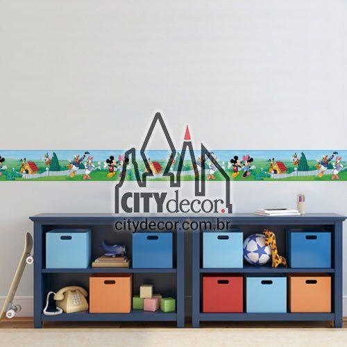 Faixa decorativa infantil Mickey