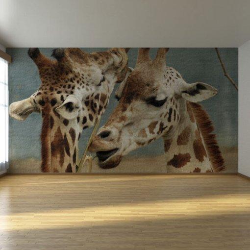 Painel adesivo Girafas